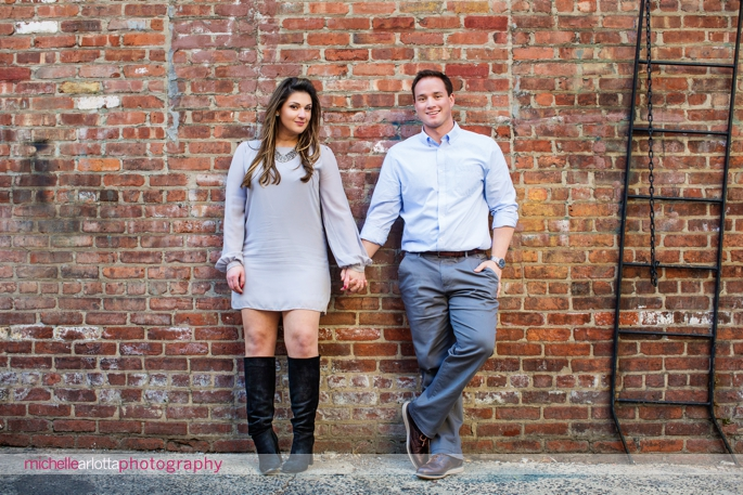 Hoboken New Jersey engagement session