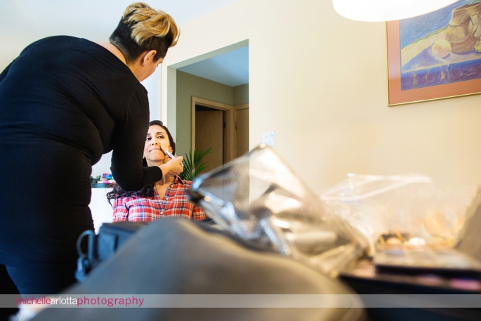 New Jersey bride prep
