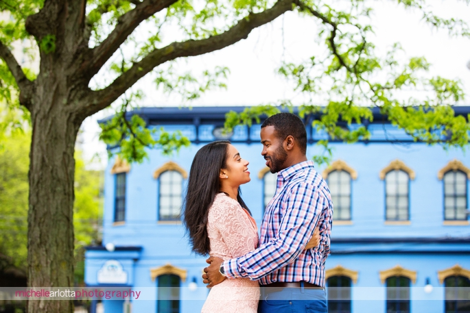 New Brunswick New Jersey engagement session