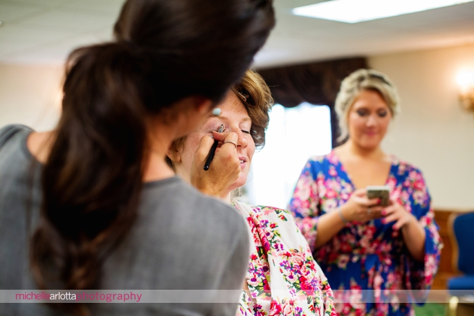 The Madison Hotel New Jersey Wedding Bride prep