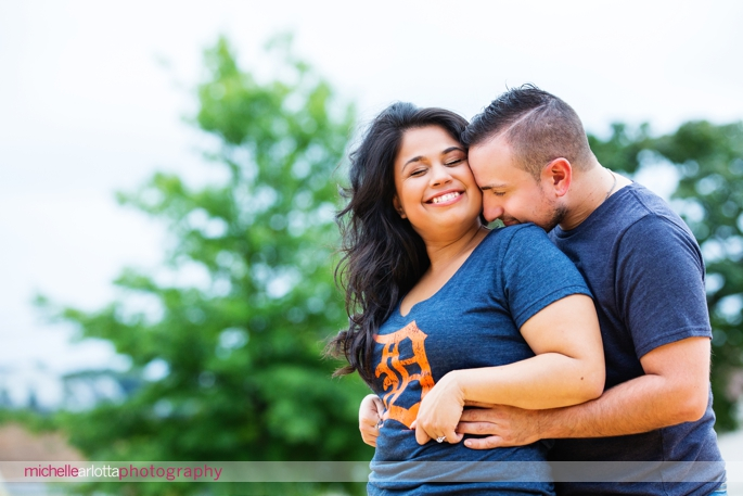 baseball field engagement session
