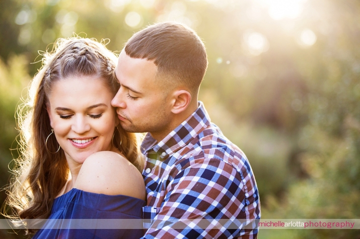 bear brook valley couple New Jersey all engagement session with michelle Arlotta photography