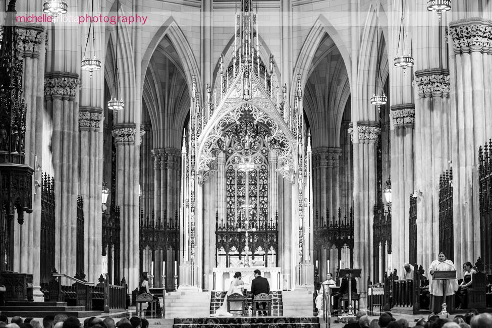 St Patrick's Cathedral Wedding NYC ceremony