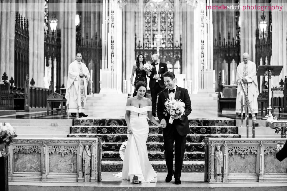 St Patrick's Cathedral Wedding ceremony